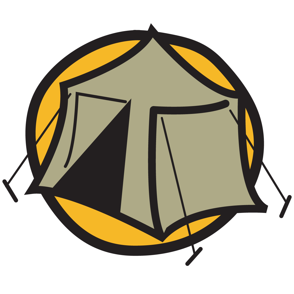 Camping logo clip art royalty free library Camping logo clip art - ClipartFest royalty free library