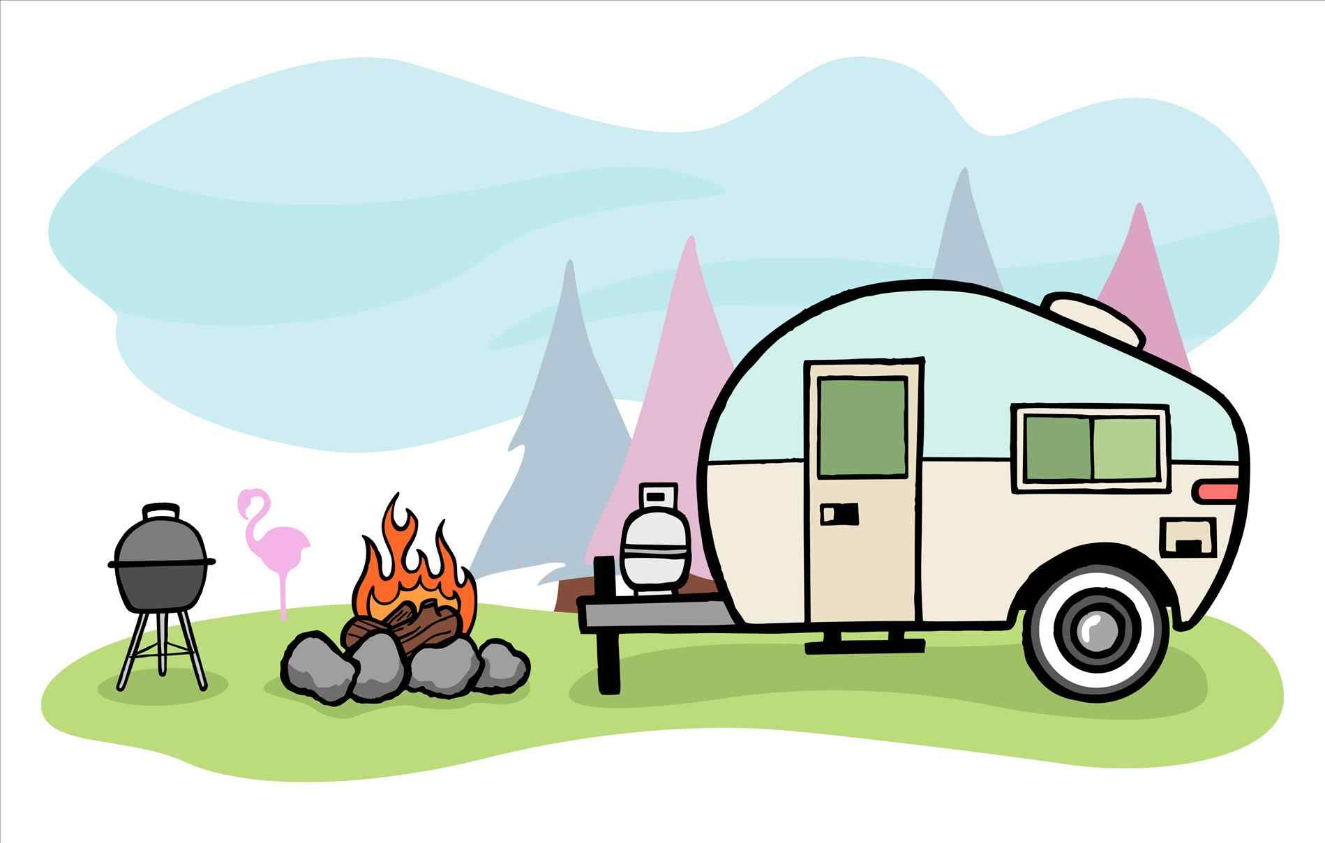 Camping pictures clipart clipart free Campsite Clipart   Free download best Campsite Clipart on ClipArtMag.com clipart free