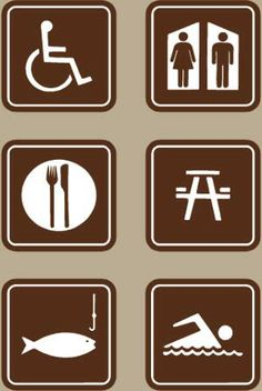 Camping signs clipart clip art stock Free Camping Symbols Cliparts, Download Free Clip Art, Free Clip Art ... clip art stock