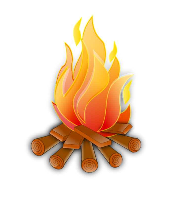 Flaming money clipart jpg royalty free library Fire Camp Theme Clipart Free | Camping Out Theme Bulletin Boards and ... jpg royalty free library