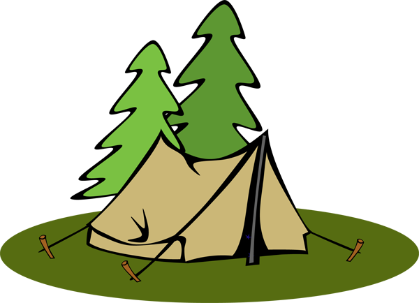 Camping tent clipart svg transparent library Tent Clip Art | LOGO svg transparent library