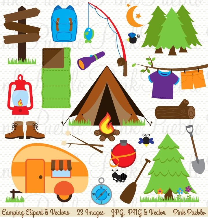Campingcrafting clipart clip library library Patriotic Camping Cliparts - Making-The-Web.com clip library library