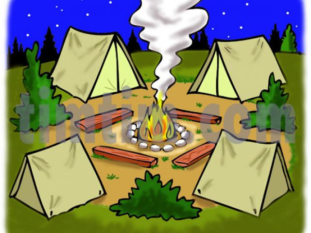 Campsite clipart transparent library Free Campsite Clipart, Download Free Clip Art on Owips.com transparent library