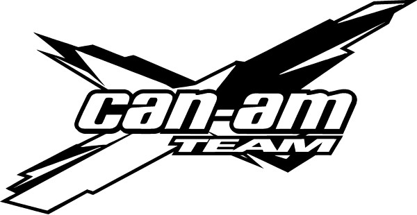 Can am logo clipart clip free Can-Am Decal / Sticker 09 clip free