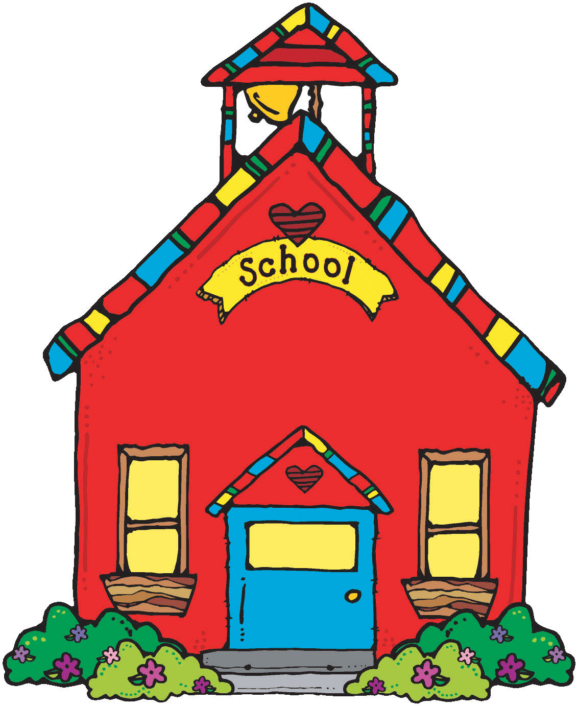 Little red schoolhouse clipart picture transparent 88+ Clipart Schoolhouse | ClipartLook picture transparent