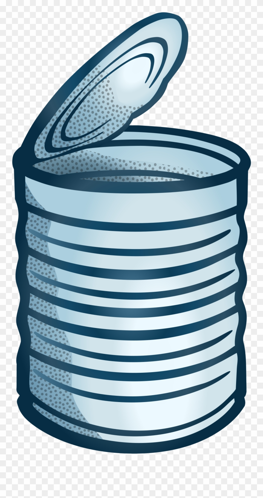 Tin can clipart image black and white Tin Can Can Stock Photo Drink Can Download - Clipart Can - Png ... image black and white