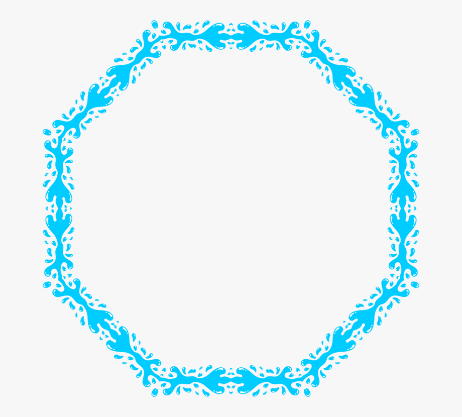 Can stock image clipart jpg free stock Picture Frames Water Computer Icons Can Stock Photo - Frame Splish ... jpg free stock