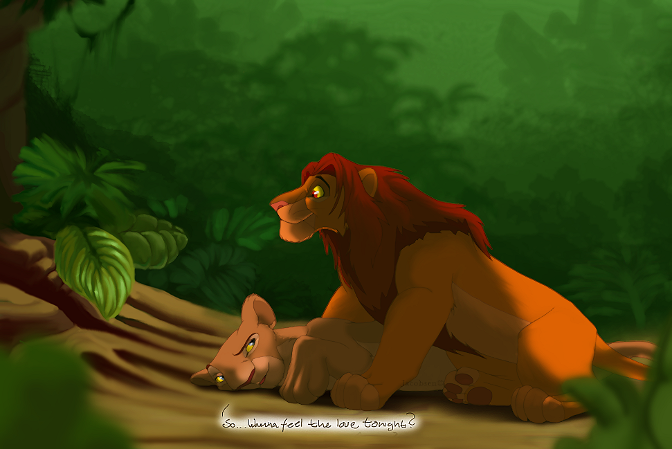 Can you feel the love tonight clipart graphic royalty free library Can you feel the love tonight - Nala and Simba - The Lion King Fan ... graphic royalty free library