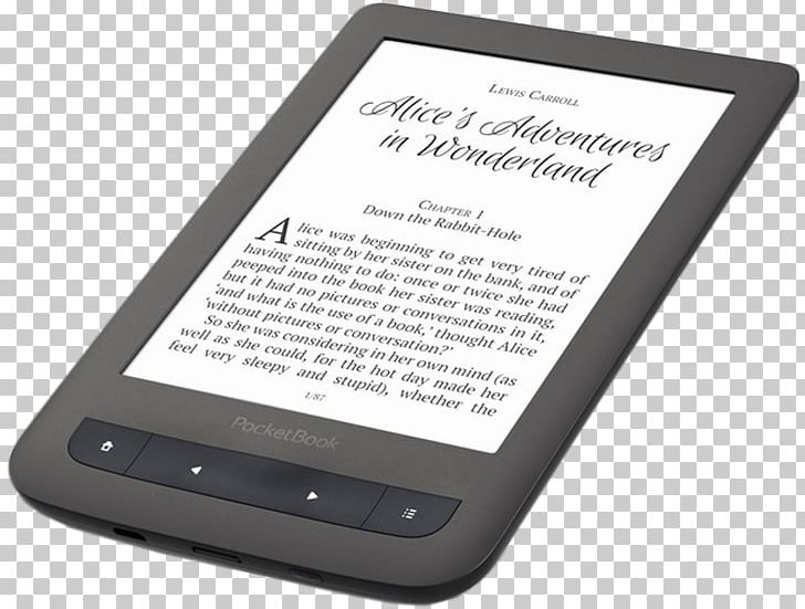 Clipart ebook royalty free library EBook Reader 15.2 Cm PocketBookTOUCH HD PocketBook Touch HD 8 GB PNG ... royalty free library