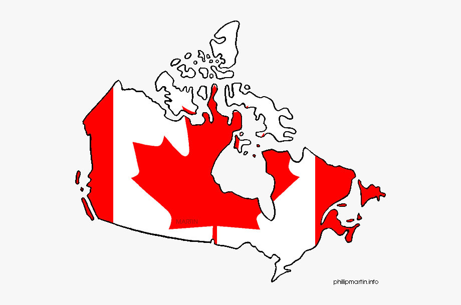 Free canada clipart vector freeuse stock Maple Leaf Clipart Canada - Mapa Y Bandera De Canada #1425437 - Free ... vector freeuse stock
