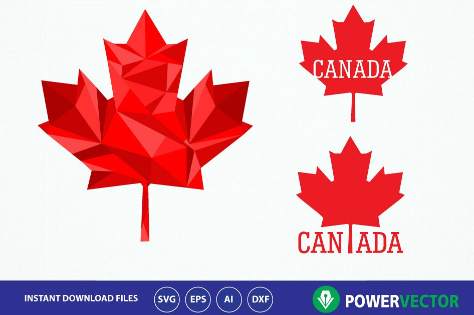 Canada clipart leaf png black and white download Canada Maple Leaf Svg. Iron on design maple leaf Svg. Canadian maple leaf  clipart. Vector Maple leaf png, eps, ai files. Low poly design maple leaf png black and white download