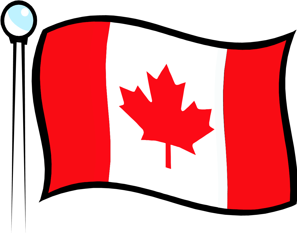 Canada country clipart png library download Canada Flag Clipart & Free Clip Art Images #32896 - Clipartimage.com png library download