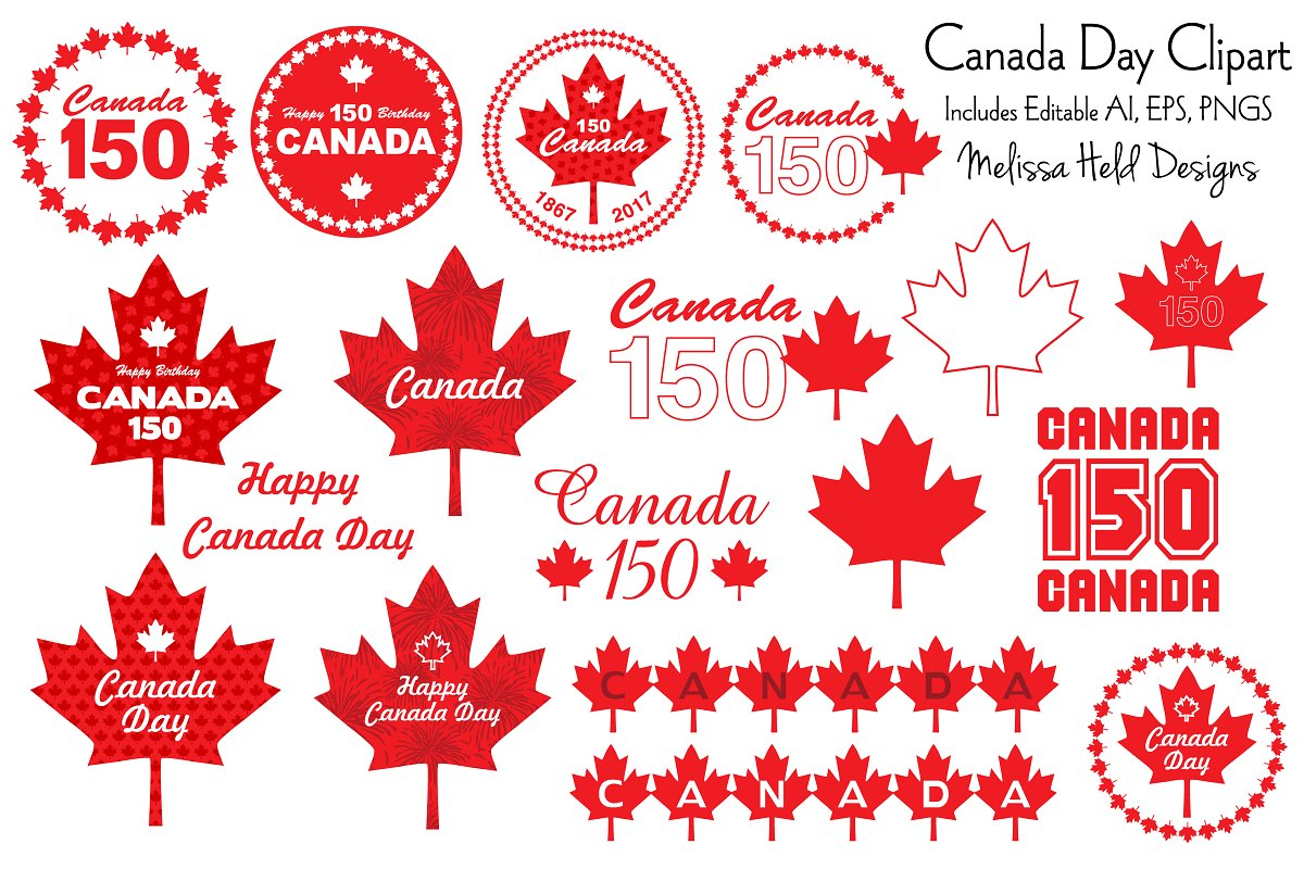 Canada day 150 clipart picture Canada Day Clipart picture