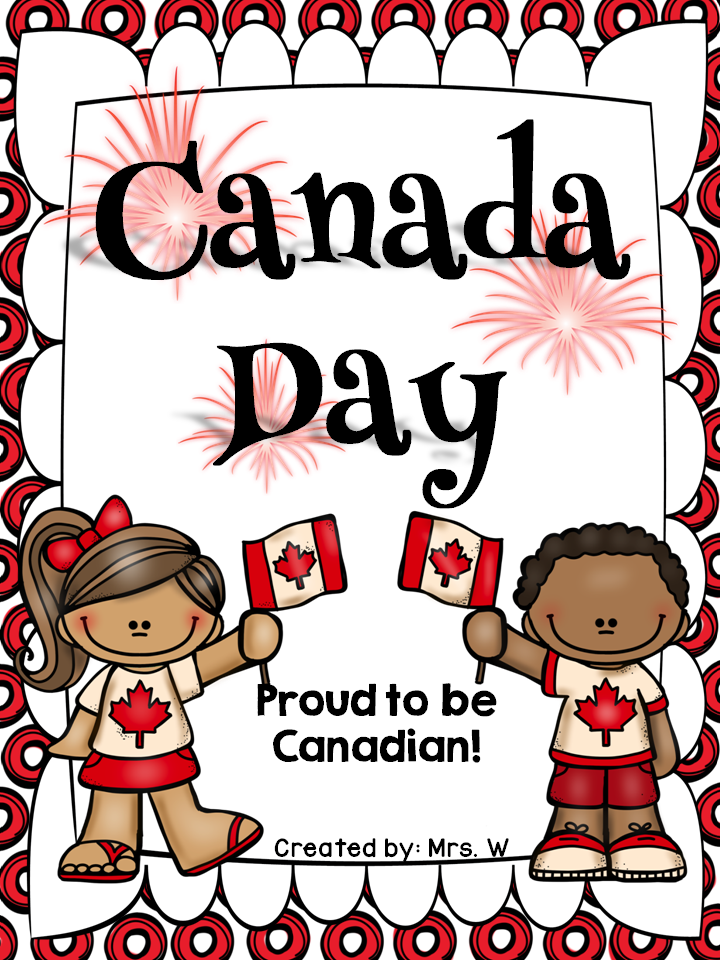 Canada day 150 clipart banner library stock Canada Day Freebie | Mrs. Watts\' Little Lights TpT | Canada day 150 ... banner library stock