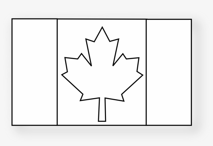 Canadian flag clipart black and white free png Canadian 2 Black White Pinterest Flag Drapeau Flagartist - Canadian ... png