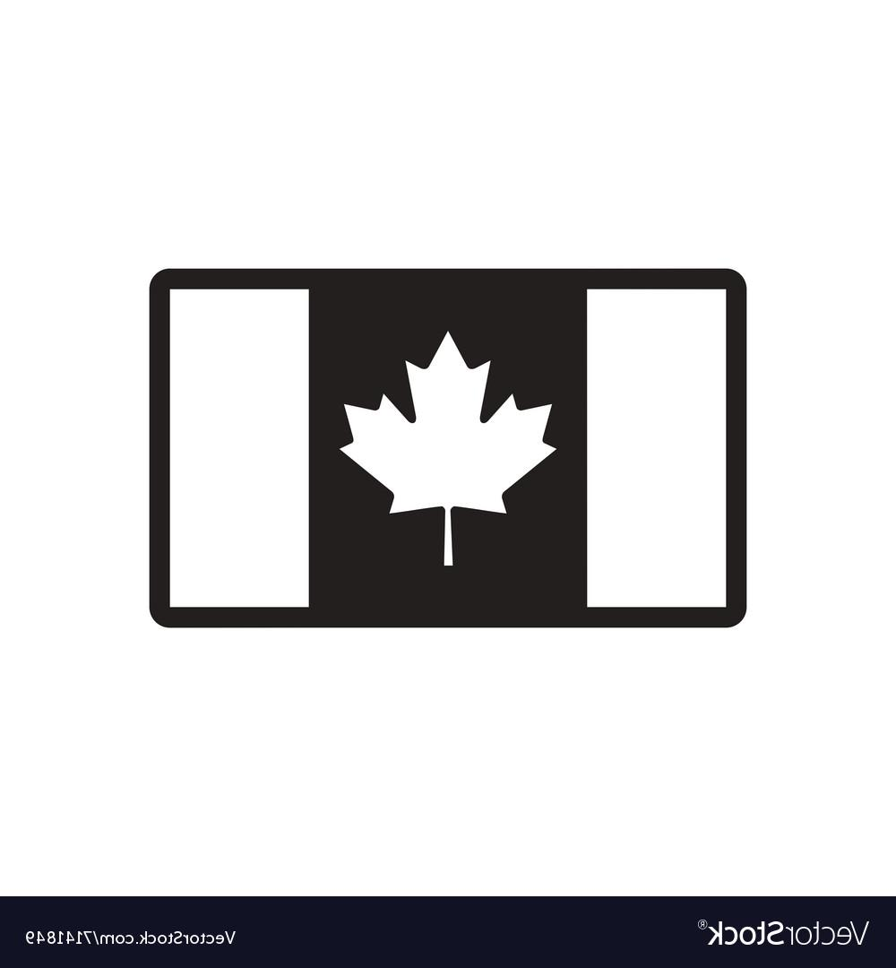 Canadian flag clipart black and white free picture royalty free download Best Black And White Canada Flag Vector Photos » Free Vector Art ... picture royalty free download