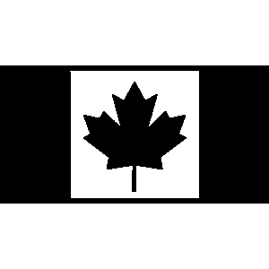 Canadian flag clipart black and white free image library library Flag Clipart Black White | Free download best Flag Clipart Black ... image library library