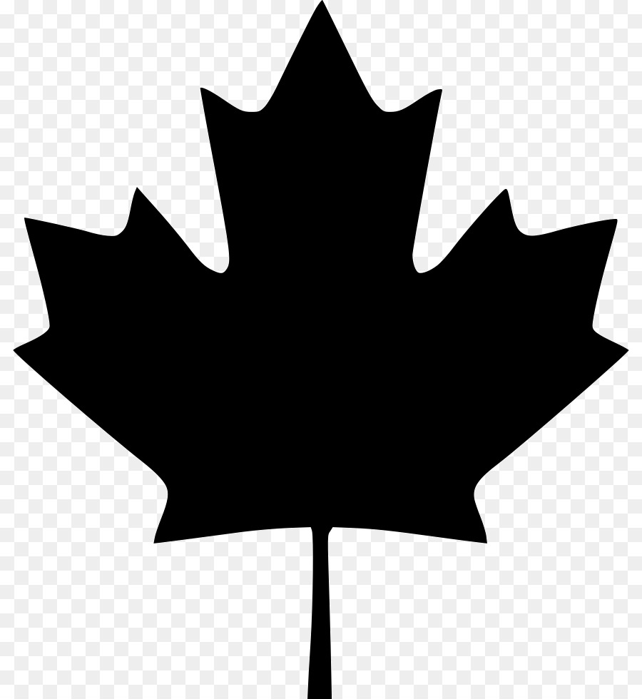 Canadian flag clipart black and white free clip transparent download Black And White Flower png download - 864*980 - Free Transparent ... clip transparent download