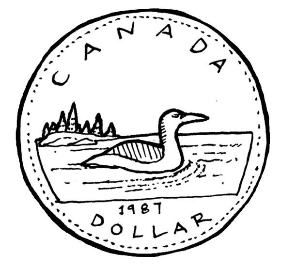 Canadian quarter clipart png black and white stock Free Canadian Cliparts, Download Free Clip Art, Free Clip Art on ... png black and white stock