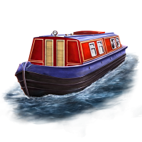 Narrowboat clipart clip royalty free Png Canal Boat & Free Canal Boat.png Transparent Images #6887 - PNGio clip royalty free