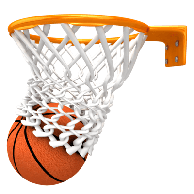 Canasta de baloncesto clipart graphic freeuse library Balón de Baloncesto en Canasta Tanto PNG transparente - StickPNG graphic freeuse library