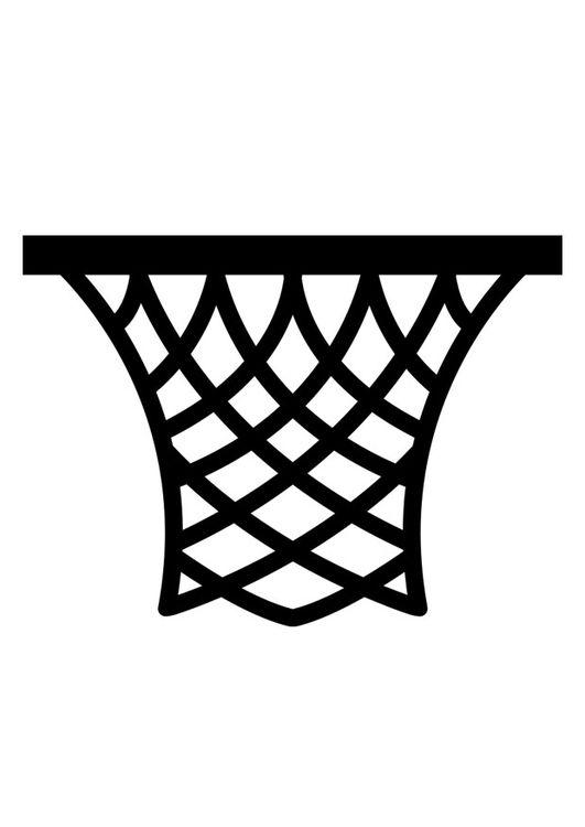 Canasta de baloncesto clipart vector freeuse Dibujo para colorear canasta   CriCUT it Out   Basquetbol dibujo ... vector freeuse