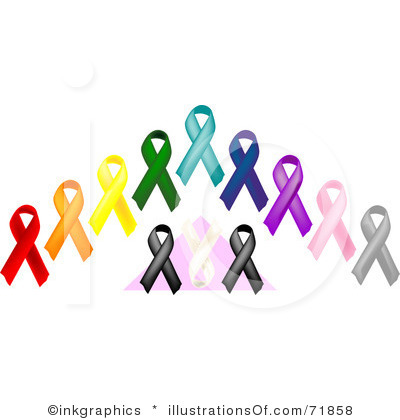 Cancer awareness ribbon clip art graphic freeuse library Cancer Awareness Clipart graphic freeuse library