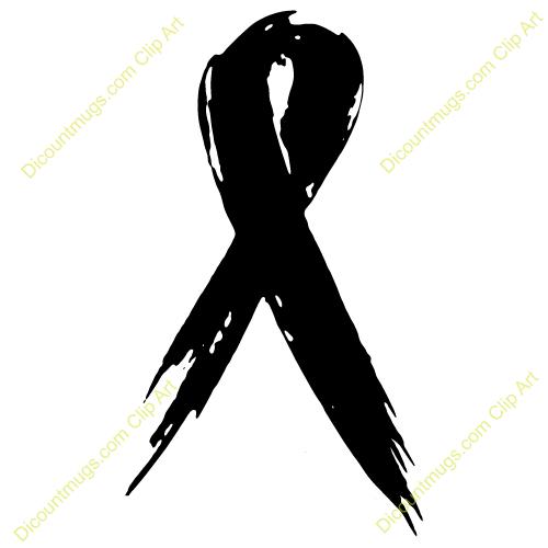 Cancer awareness ribbon clip art clipart black and white Cancer Ribbon Clipart & Cancer Ribbon Clip Art Images - ClipartALL.com clipart black and white