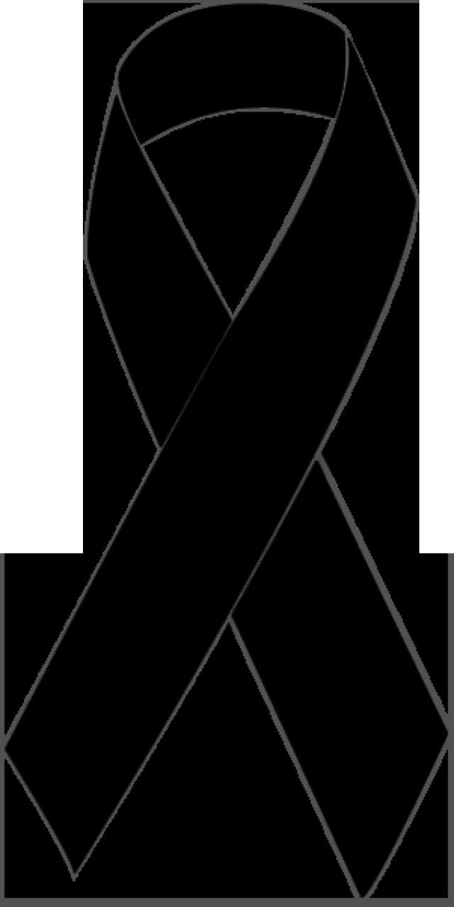 Pink ribbon football clipart clip freeuse stock Clip Art of a Black Awareness Ribbon: Black Awareness Ribbon | Black ... clip freeuse stock