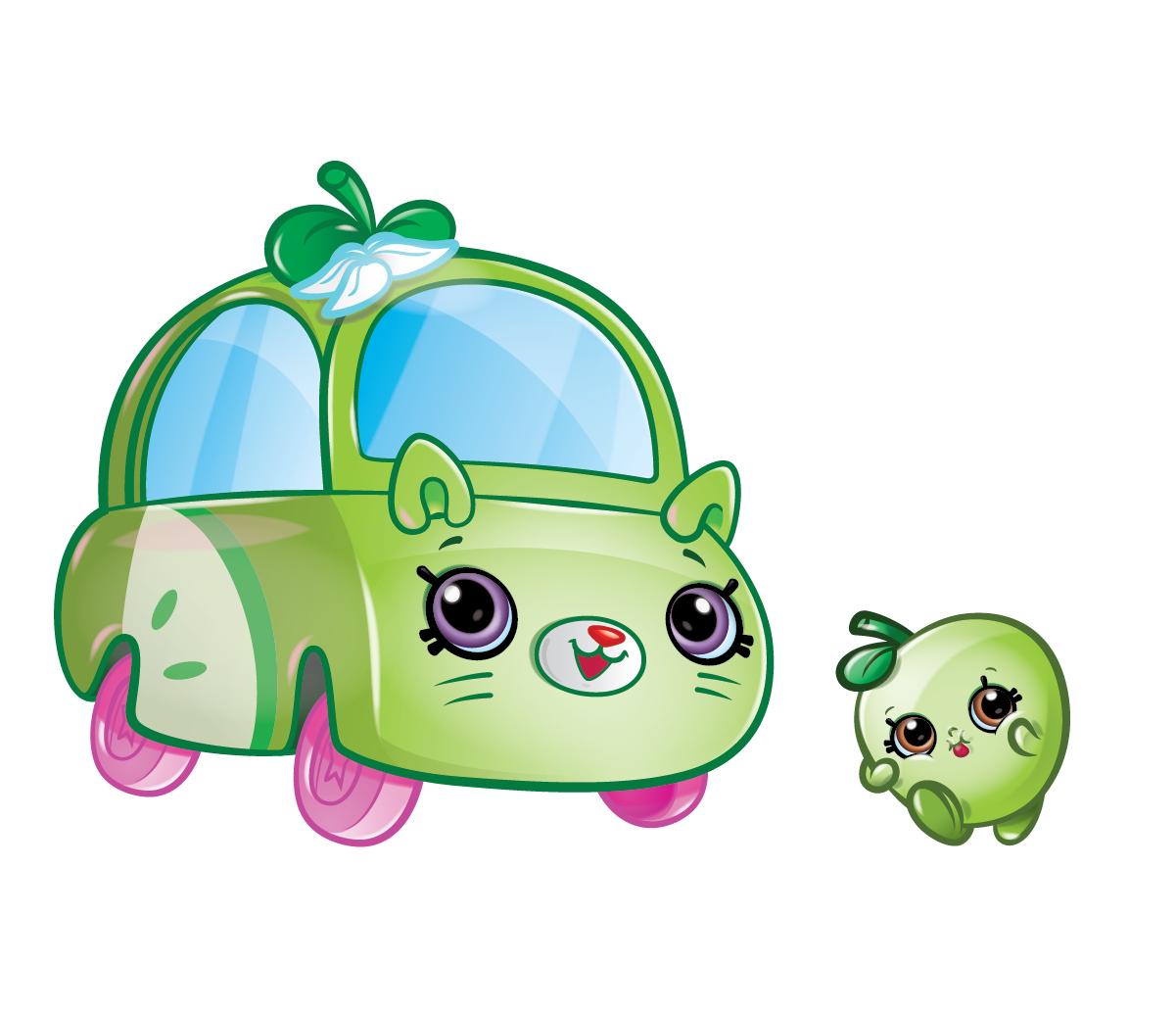 Candi apple clipart clipart free stock Cutie Cars Characters - Meet Your Favourite Cutie Cars Characters clipart free stock