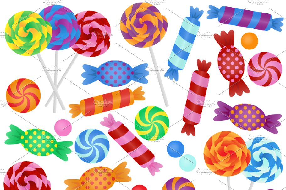 Candies clipart banner royalty free stock Candy Vectors and Clipart banner royalty free stock