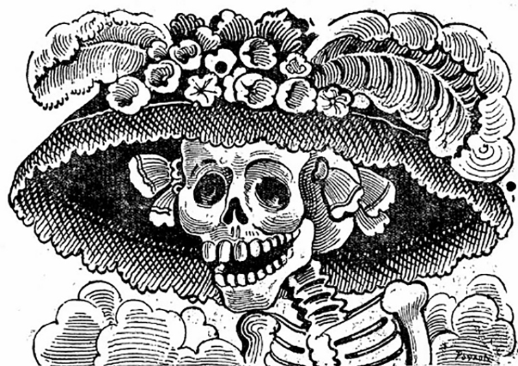 Candle clipart black and white altar dia de los muertis