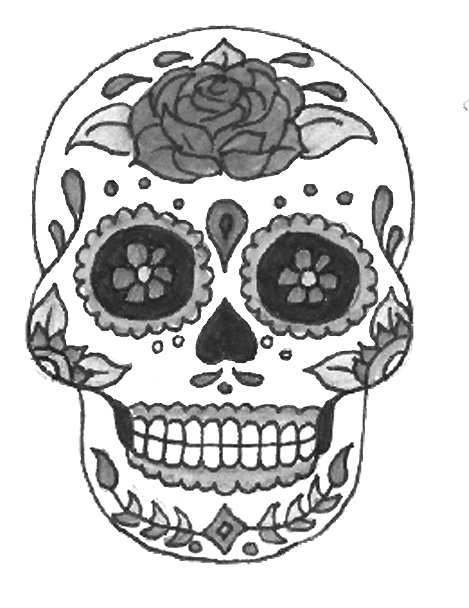 Candle clipart black and white altar dia de los muertis png transparent stock El Dia de los Muertos celebration: a family affair – The Tower ... png transparent stock