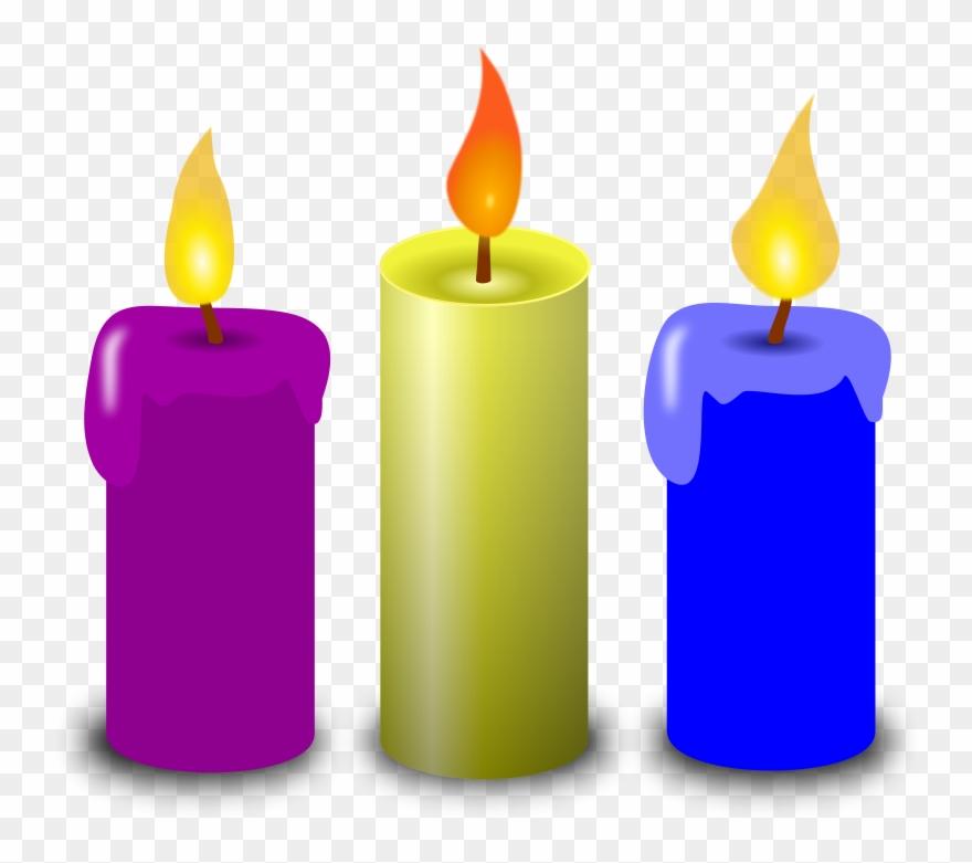Candles pictures clipart svg transparent Image Of Birthday Candle Clipart 4 Of Birthday Candles - Candle ... svg transparent