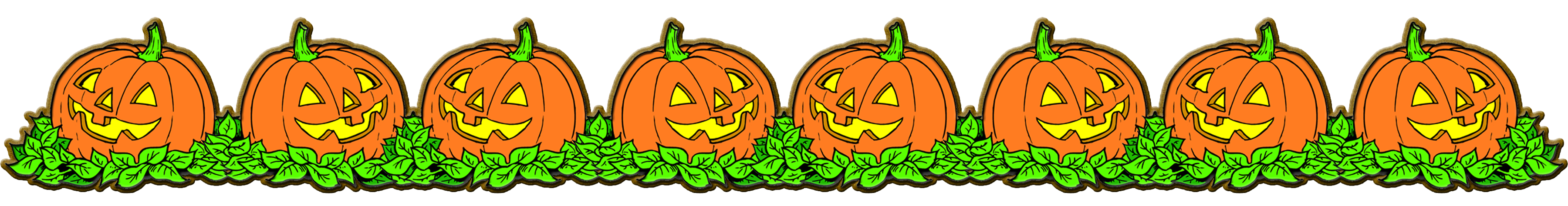 October pumpkin clipart free clipart transparent library 28+ Collection of Halloween Candy Border Clipart | High quality ... clipart transparent library
