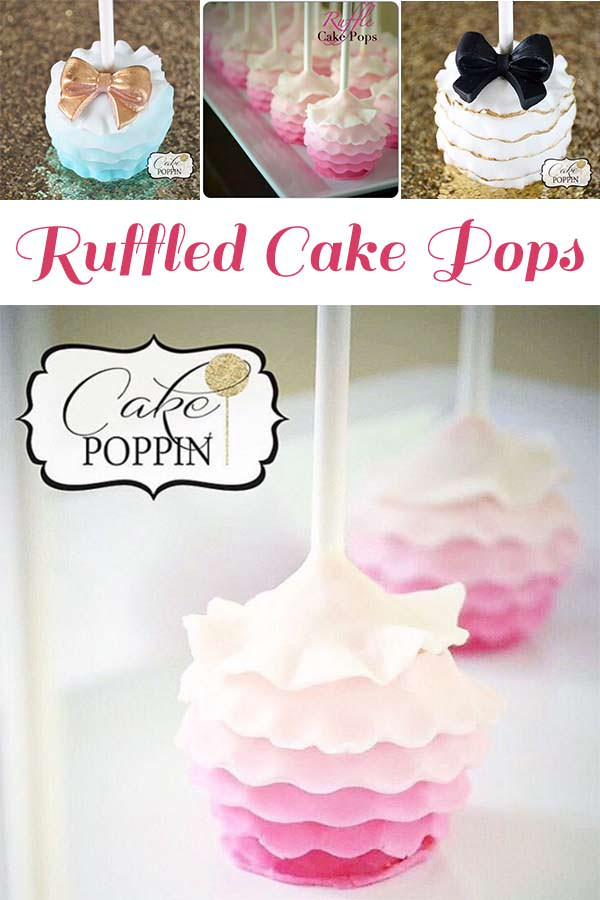 Candy apple strawberries and cake pop clipart graphic library download Ruffle Cake Pop Tutorial - Pint Sized Baker graphic library download