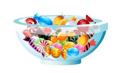 Candy bowls clipart free Candy Bowl Cliparts - Making-The-Web.com free