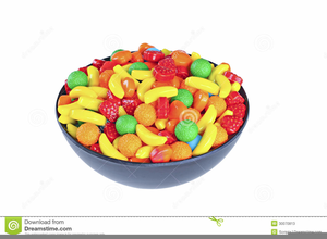 Candy bowls clipart banner black and white library Bowl Of Candy Clipart | Free Images at Clker.com - vector clip art ... banner black and white library