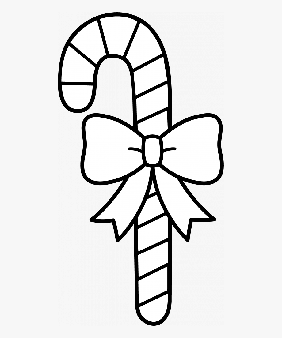 Candy cane black and white clipart jpg transparent Cane Drawing Mint Candy - Candy Canes Black And White #65157 - Free ... jpg transparent