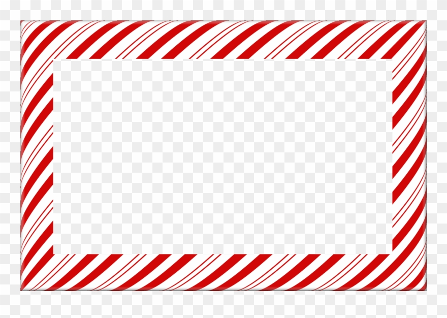 Candy cane clipart frame png free library 19 Christmas Borders Free Graphic Library Huge Freebie - Christmas ... png free library