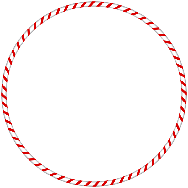 Candy cane clipart frame svg download Christmas PNG Candy Cane Spearmint Round Border Frame | Gallery ... svg download