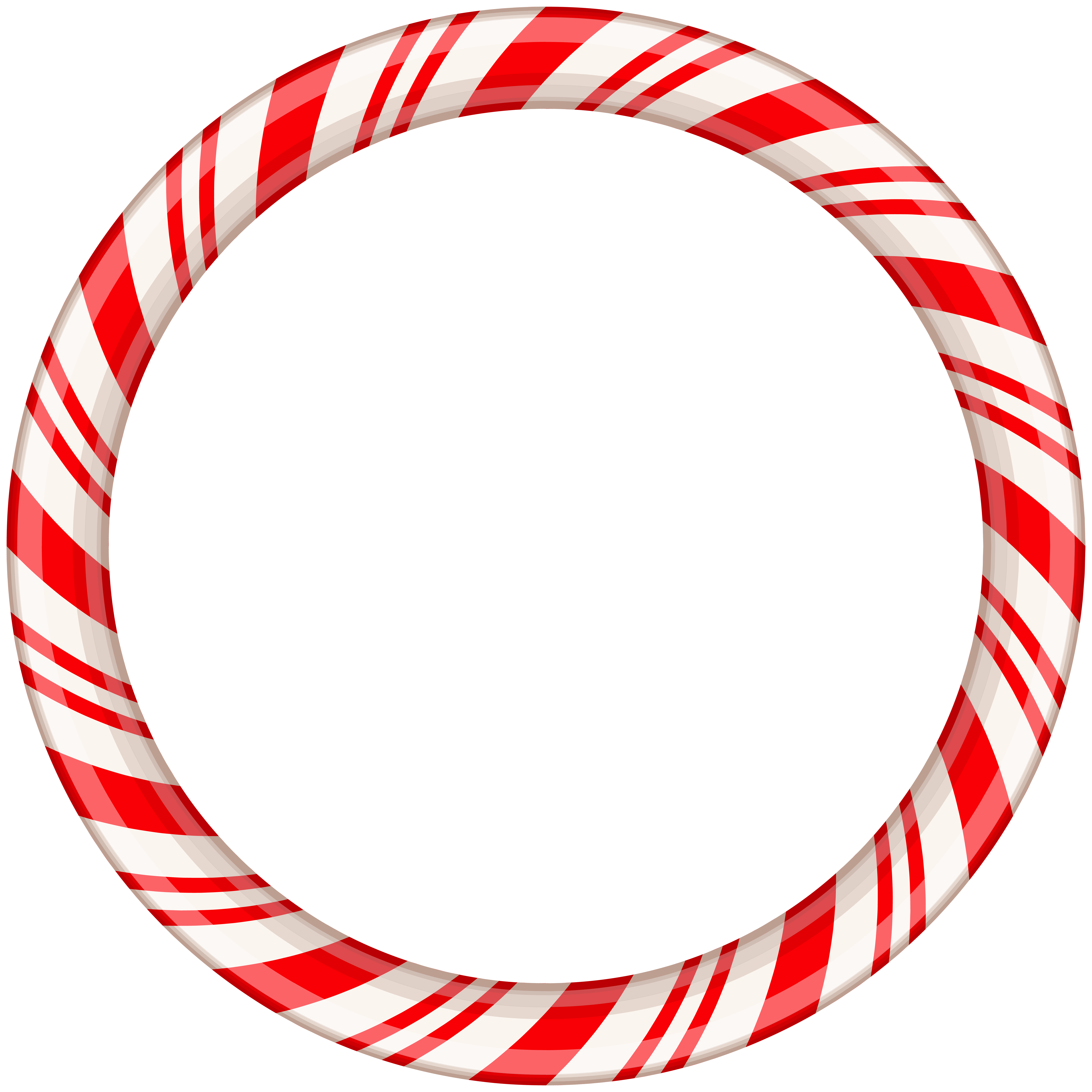 Candy cane clipart frame clip free download Candy Cane Round Border Frame Transparent Clip Art | Gallery ... clip free download