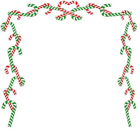 Candy cane clipart frame jpg royalty free 25+ Candy Cane Frames Borders Landscape Pictures and Ideas on Pro ... jpg royalty free