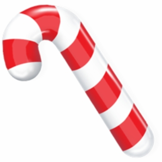 Candy cane clipart vector picture free library Clipart Candy Cane - Candy Cane With A Bow - candy cane png, Free ... picture free library