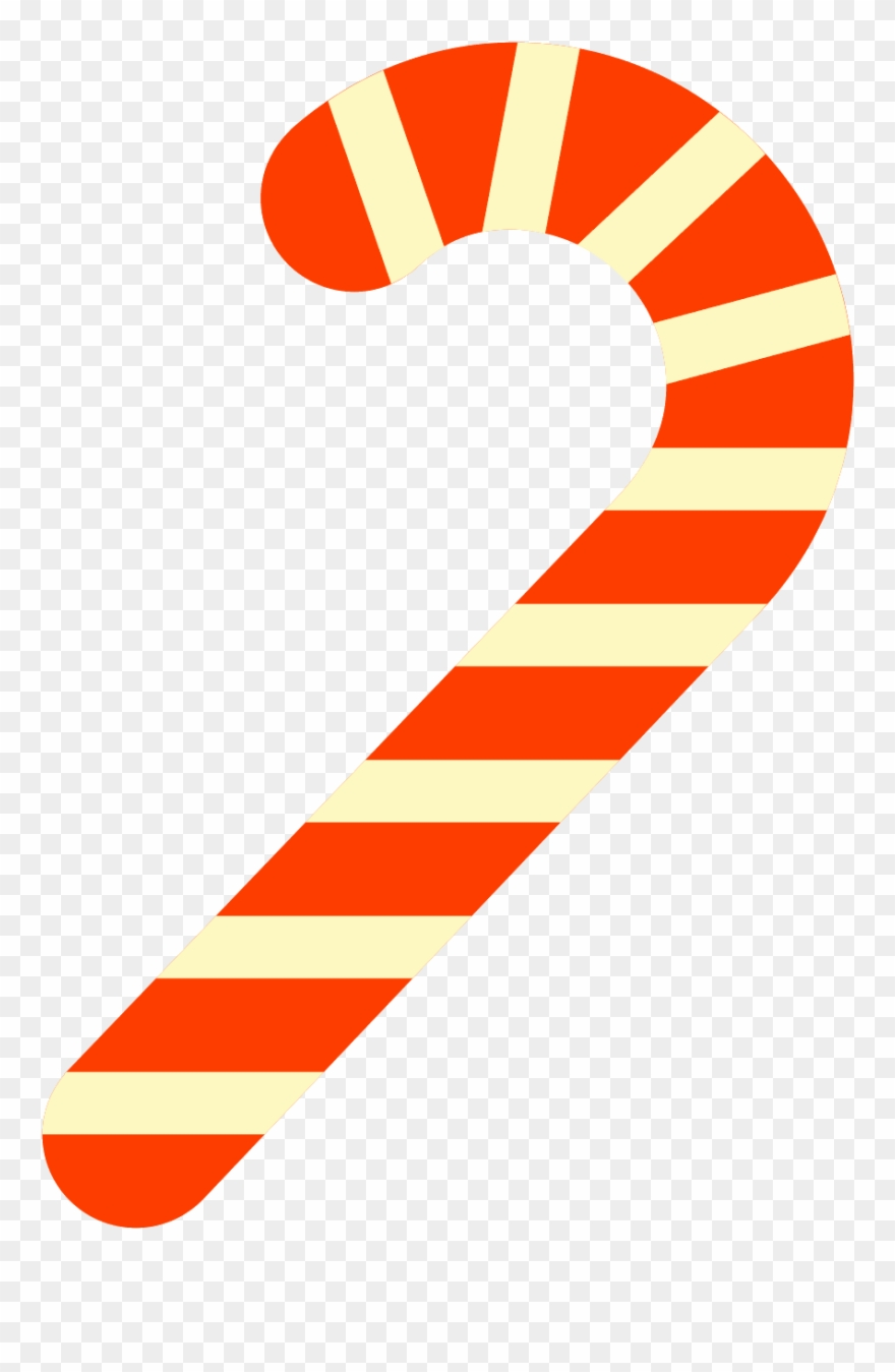 Candy cane clipart vector png library download Picture Free Stock Canes Clipart Vector - Candy Cane - Png Download ... png library download