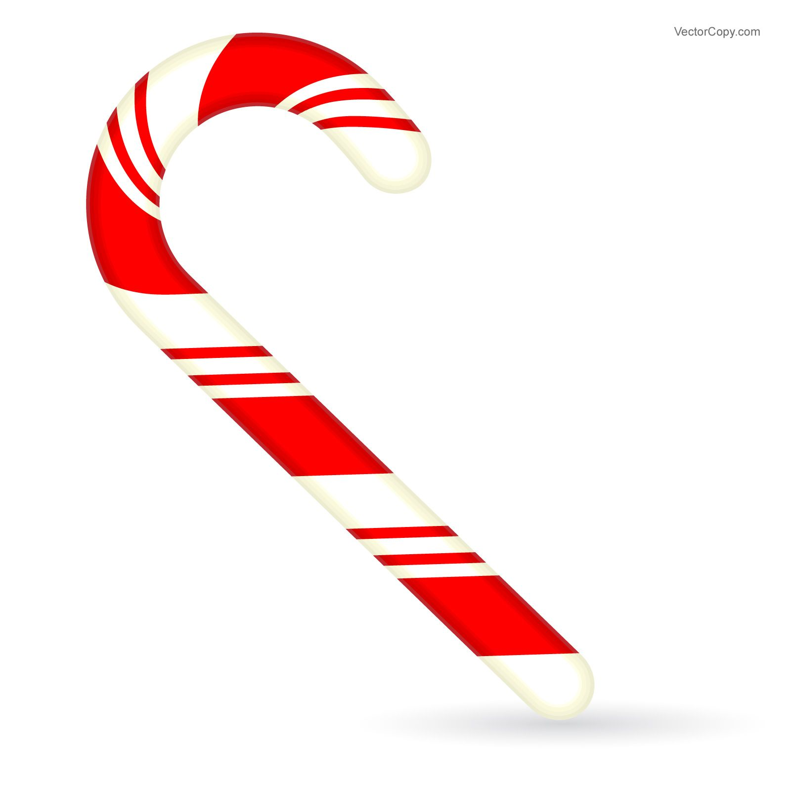Candy cane clipart vector svg royalty free Christmas Candy Cane, free vector | Vector Objects | Christmas candy ... svg royalty free