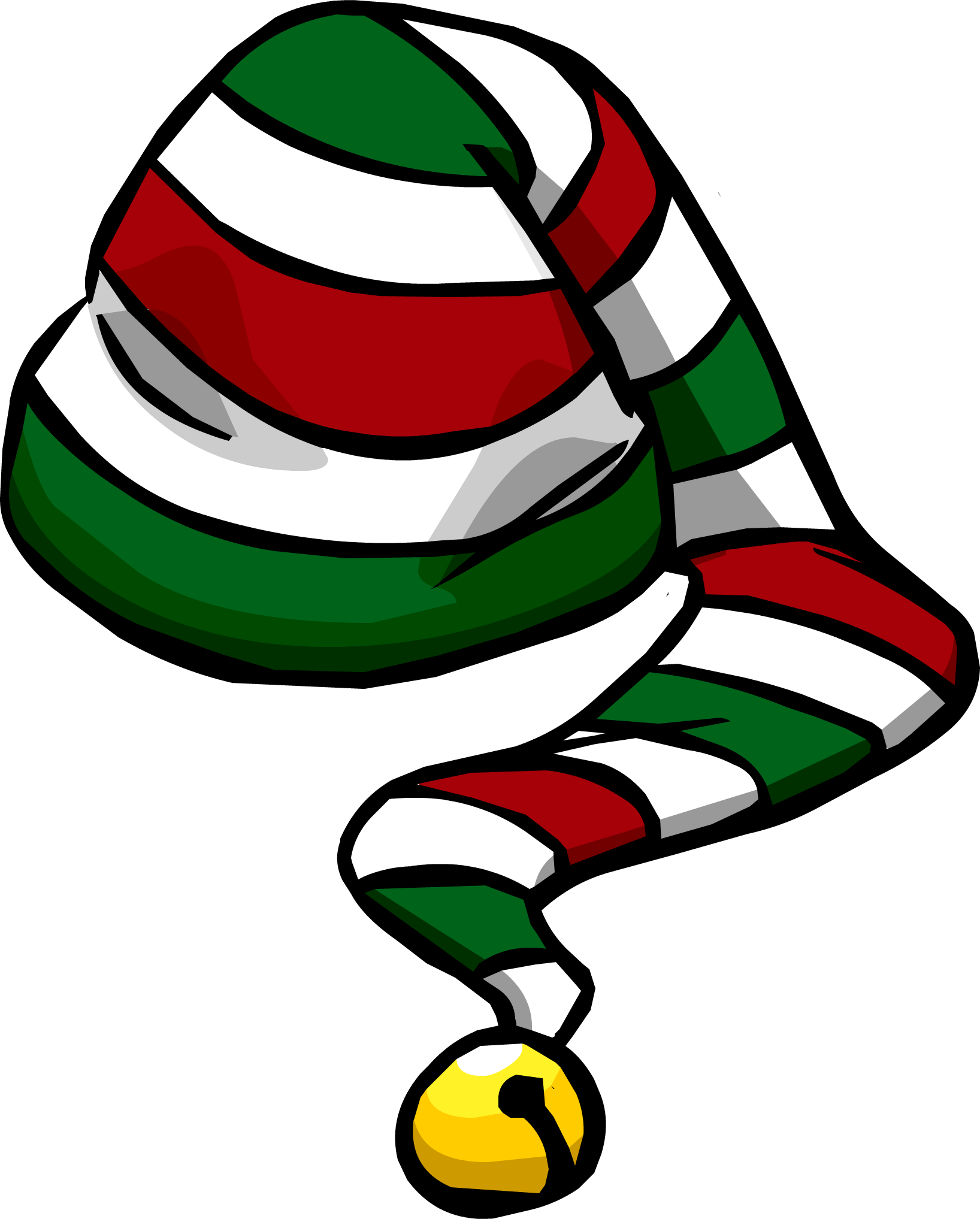 Candy cane heart clipart free graphic royalty free download Image - Candy Cane Hat.PNG | Club Penguin Wiki | FANDOM powered by Wikia graphic royalty free download