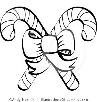 Candy cane pole clipart black and white banner black and white library Candy Cane Images Free | Free download best Candy Cane Images Free ... banner black and white library