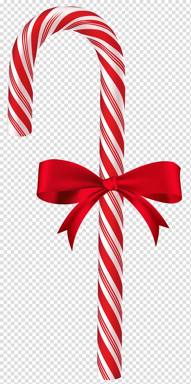 Candy cane ribbon clipart png black and white download Cane with ribbon poster, Candy cane Christmas , Candy Cane with Red ... png black and white download