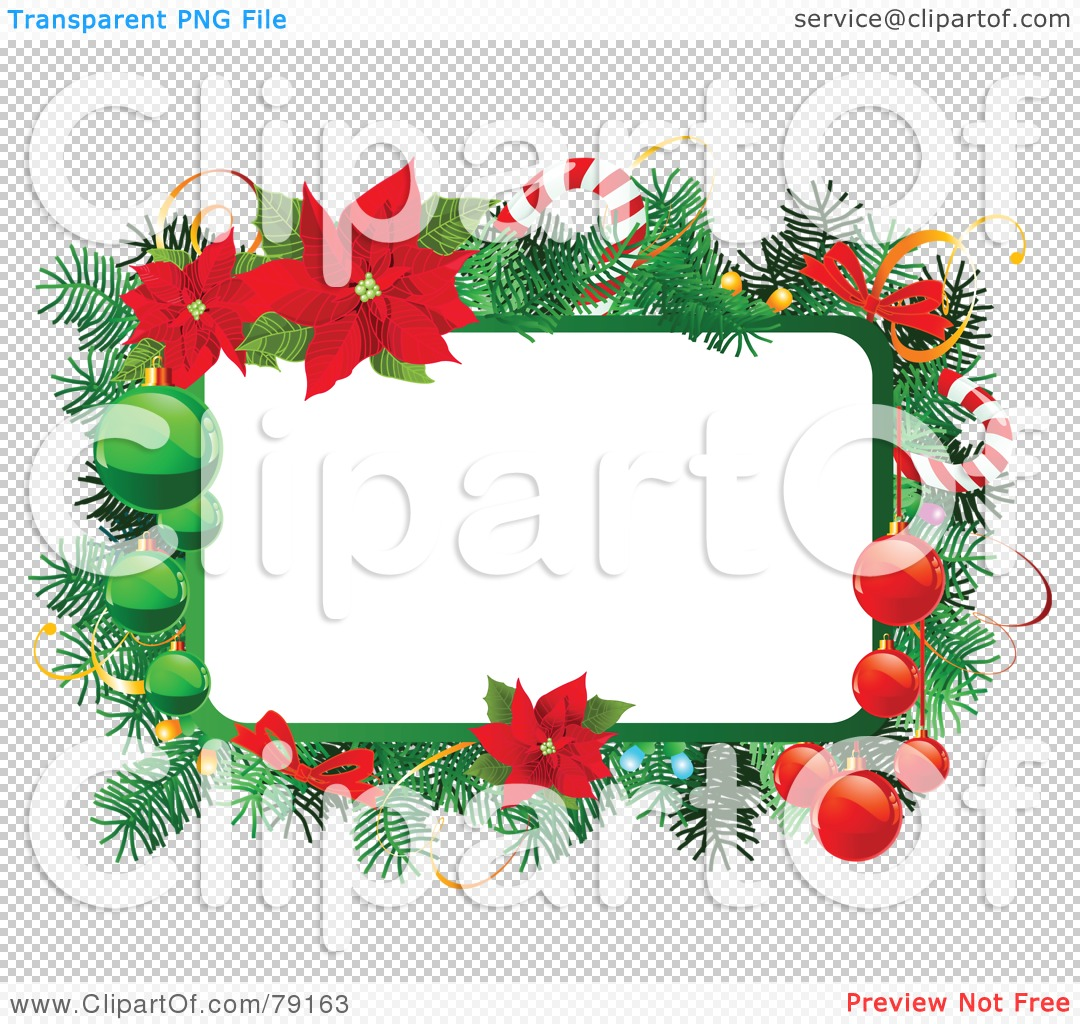 Candy clipart transparent background png free picture transparent stock Royalty-Free (RF) Clipart Illustration of a Christmas Text Box ... picture transparent stock